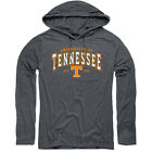 "Tennessee Volunteers Ladies ""Shelved"" Hooded Tee - Heather Black"