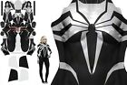 High Quality Symbiote Spider-Gwen 3D Printing Costume