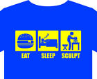 T shirt up to 5XL throw pots potter pottery kiln sculpt