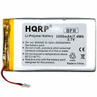 2000mAh Replacement Battery for RCA Voyager II 8GB 7-Inch Touchscreen Tablet