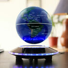 3 Colors 8 LED/C Shape Magnetic Levitation World Map Light Decor Floating Globe