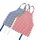 Cookify - Cooking Apron Checked Chef Uniform For Schools Teenagers Girls Boy