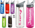 2 x Personalised Name Stickers for Drinks Bottle - Love Island Style Water