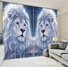 3D Pretty Lions 65 Blockout Photo Curtain Printing Curtains Drapes Fabric Window