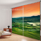 3D Hilly Area 4 Blockout Photo Curtain Printing Curtains Drapes Fabric Window AU