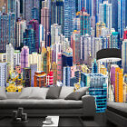 3D Floor-level city 1 WallPaper Murals Wall Print Decal Wall Deco AJ WALLPAPER