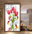 3D Rose goldfish 867 WallPaper Murals Wall Print Decal Wall Deco AJ WALLPAPER