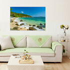 3D Sea, beach, island 54 Wall Stickers Vinyl Wall Murals Print Decal AJSTORE US