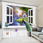 3D Peacock 0249 Blockout Photo Curtain Print Curtains Drapes Fabric Window UK