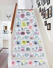 3D Floral Pattern Stairs Risers Decoration Photo Mural Vinyl Decal Wallpaper US