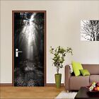 3D Thick Forest 15 Door Wall Mural Photo Wall Sticker Decal Wall AJ WALLPAPER AU
