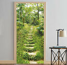 3D Forest Stairs 9 Door Wall Mural Photo Wall Sticker Decal Wall AJ WALLPAPER AU