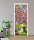 3D Blooming Tree 2 Door Wall Mural Photo Wall Sticker Decal Wall AJ WALLPAPER AU