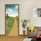 3D Grassland 82 Door Wall Mural Photo Wall Sticker Decal Wall AJ WALLPAPER AU