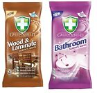Greenshield CLEANING WIPES Multi Purpose All Types Furniture Bathroom Interior