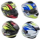 GSB Full Face Race Motorcycle Helmet Graphic Road Crash Lid Red White Blue