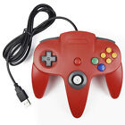Retro Wired Nintendo 64 N64 USB Controller Joypad For PC & Mac Computer Games US