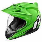 ICON Variant Double Stack Motorcycle Helmet Green