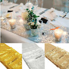 "Glitter Sequin Table Runner 12""x108"" Sparkly Wedding Party Deco UK"