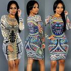 Womens Sleeveless Bandage Bodycon  Evening Party Cocktail Pencil Mini Dress