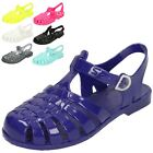 Girls Spot On Closed Toe Jelly Sandals H2309