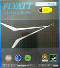 NITTAKU FLYATT SOFT (SPIN+SPEED) TABLE TENNIS  RUBBER BIO SAFE ITTF APPROVED