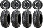 "Method 401 14"" Beadlock Blk (4+3) Wheels 31"" Ultracross Tires Can-Am Maverick X3"