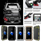 Shockproof Heavy Duty Waterproof Aluminum Bumper Metal Cover Case iPhone 5 6 7+