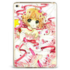 Anime Cartoon Sakura Magic Wand Soft Silicone Case Cover For Samsung iPad MK10-1