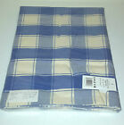 Cotton Checked Tablecloths Red, Green or Blue and Cream Check 140x180 / 140x230)
