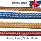 10mm Polypropolyne Tube Hollow Braided Rope Cover Sleeving Wire Cable Electric