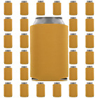 Gold Can Coolers Beverage Insulators Party Supplies Wedding Favors