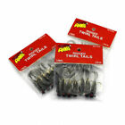 7Pcs Soft Worm Assorted Hard Fishing Lures Crank Bait Tackle 4.4CM 2017 NEW SP