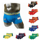 Men's Cotton Boxer Country Flag Underwear Mens Chic Series Brief M,L,XL 9 Colors