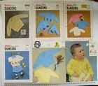 Special BABY Outfits - Jumpers & Cardigans 3, 4 & 8 Ply - Choice - 6 Books B22