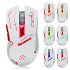 USB LED Backlit Wired Gaming Mouse 3200DPI 8 Programmable Buttons Ergonomic Mice