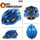 Helmet Matte Black Bicycle Racing Head Protection Helmets Back Light Men Women