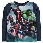MARVEL:2017 LONG SLEEVE TOP,3/4,4/5,5/6,7/8,9/10,11/12YR,NEW WITH TAGS
