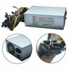 1300/1600W Power Supply For 6GPU Eth Rig Ethereum Coin Mining Miner Dedicated BY
