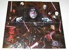 2012 Star Wars Galaxy Series 7 Etched Foil Insert Cards 1-6 YOU-PICK NM