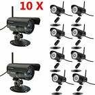 LOT 10 HD Network Wifi IP Security Camera Wireless Outdoor Night Vision Cam TO
