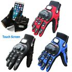 Touch Screen Motorcycle Motocross Racing Cycling Outdoor Sport Armor Gloves