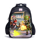 HOT Kids Plants VS Zombies Backpack School Bag Satchel Shoulder Backpack Bookbag