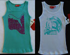 NWT Puma Girls Ribbed Tank Top with Glitter Logo Design S M NEW