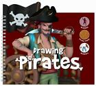 Drawing Pirates - Stencils, Pirate Paper, Stickers! c2011, Paperback, New