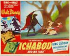 "ICHABOD AND MR. TOAD 1949 Headless Horseman CARTOON = POSTER = 7 SIZES 19"" - 36"""