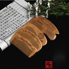 Hot Sale Massage Handcrafted Natural Wooden Comb Comb Peach Anti-static