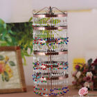 Rotatable 6 Layers Jewelry Hanger Earrings Necklace Hanging Display Stand Rack