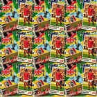 1972 SUN Soccerstamps football stamps (045 to 064) ENGLAND STARS - Various