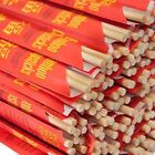 "Kari-Out Chopsticks Bamboo 9"" Individually Wrapped 5-100 Pair Free Ship US Only"